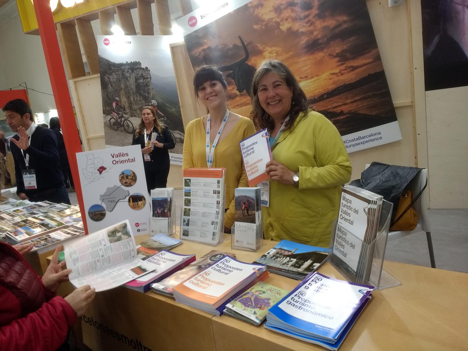 TurismeVallès present a la fira B-Travel 2019